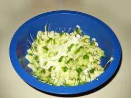 салат из капусты и огурца