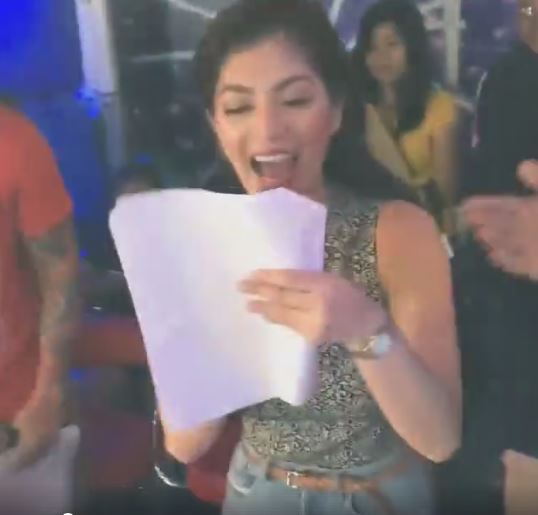 Angel Locsin And Billy Crawford's Kulitan Moment On It's Showtime!