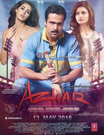 Azhar 2016 Hindi 480p DVDRip 350mb