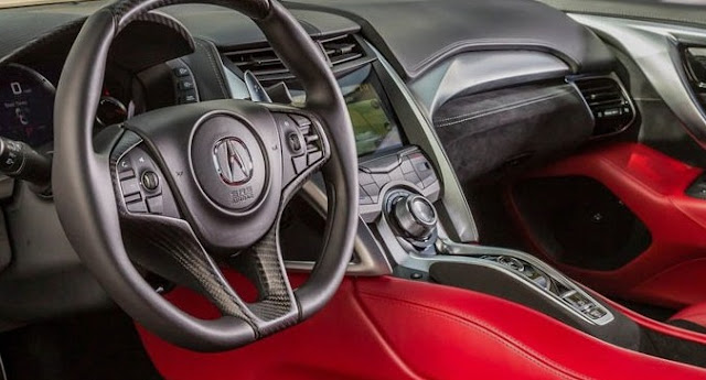 2018 Acura NSX Interior Design
