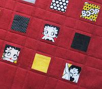 Betty Boop cushion
