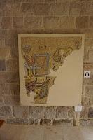 קיר פסיפס מוזיאון השומרוני