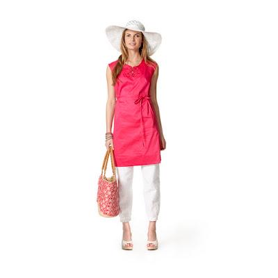 Kleid über Hose Trend