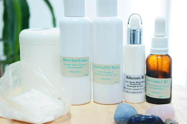 pele madura, esfoliação, vitamina C, ácido hialurônico, tônico facial, limpeza de pele, firmeza de pele