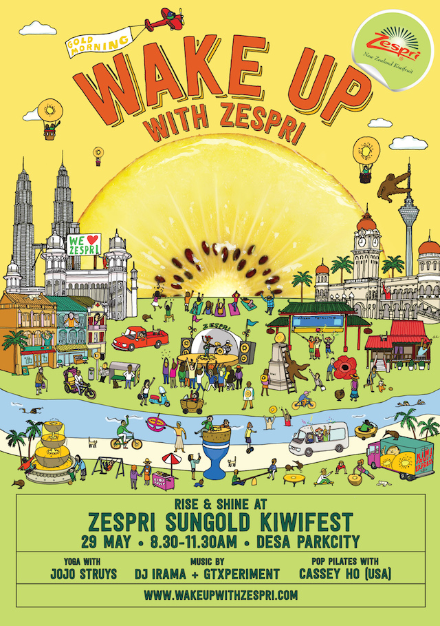 Zespri's SunGold Kiwifest Happening This Weekend! - Wake Up to A Healthy Morning