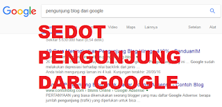 meningkatkan pengunjung blog dari google