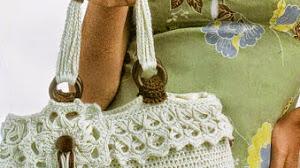 Bellísimo bolso crochet