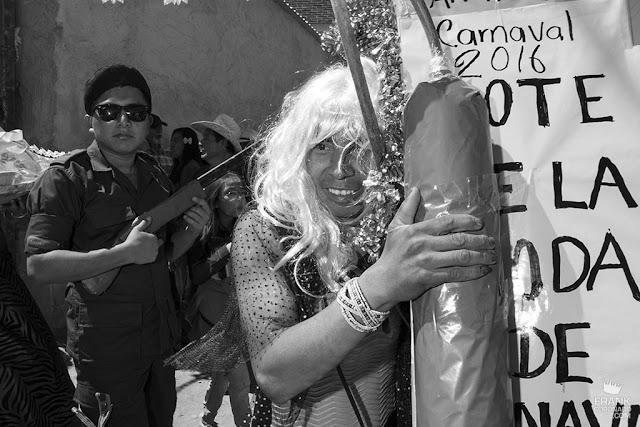 carnaval en San martin tilcajete
