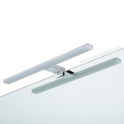 Luz led para espejo de ba o tu cocina y ba o for Espejo y barra montessori