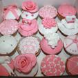 Cupcakes Girly de manière de Pâtissière