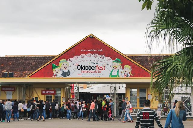 Entrada do Parque Oktoberfest