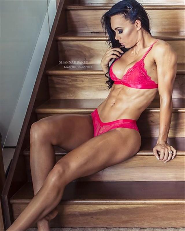 Australian Bikini Fitness Shannah Baker