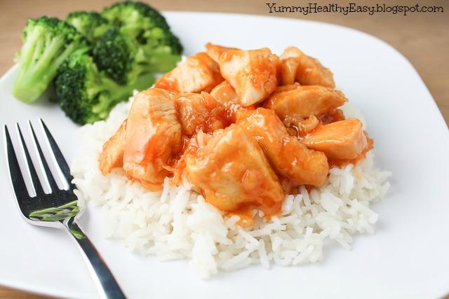 Easy Mandarin Chicken - Yummy Healthy Easy