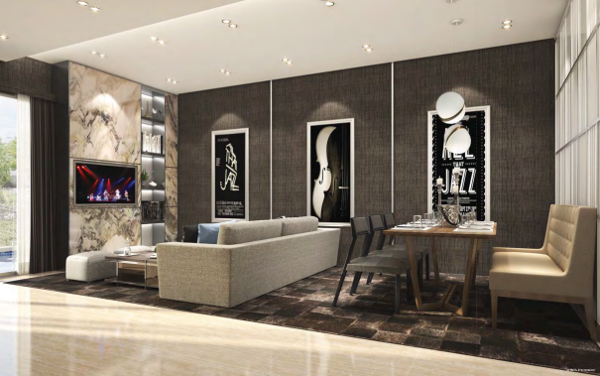 Jazz Residences Living Room