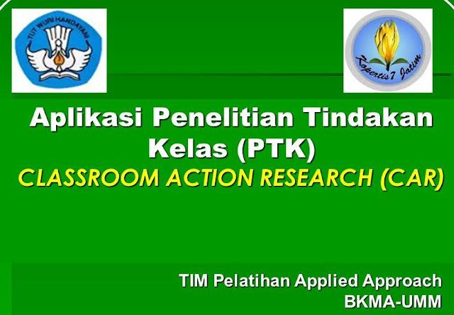 Download Panduan Penyusunan Penelitian Tindakan Kelas(PTK) Lengkap Semua Jenjang