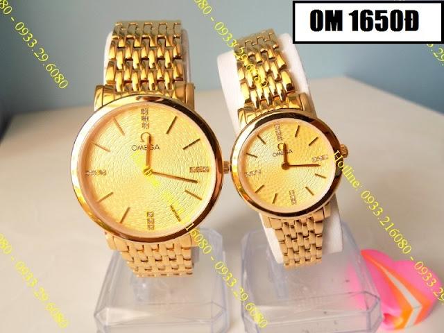 Đồng hồ cặp đôi Omega 1650Đ
