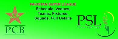 Pakistan Super League PSL 2016 full Fixture Schedule