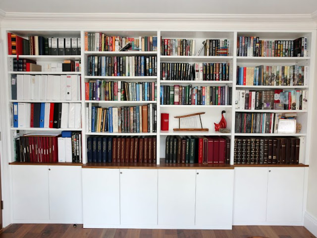Customizable Modular Bookcase That Looks Like a Doll Home Customizable Modular Bookcase That Looks Like a Doll Home furniture home arched built in bookcase fascinating images inspirations good library wall unit for