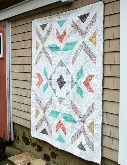Pebble & Spark Quilt Free Pattern
