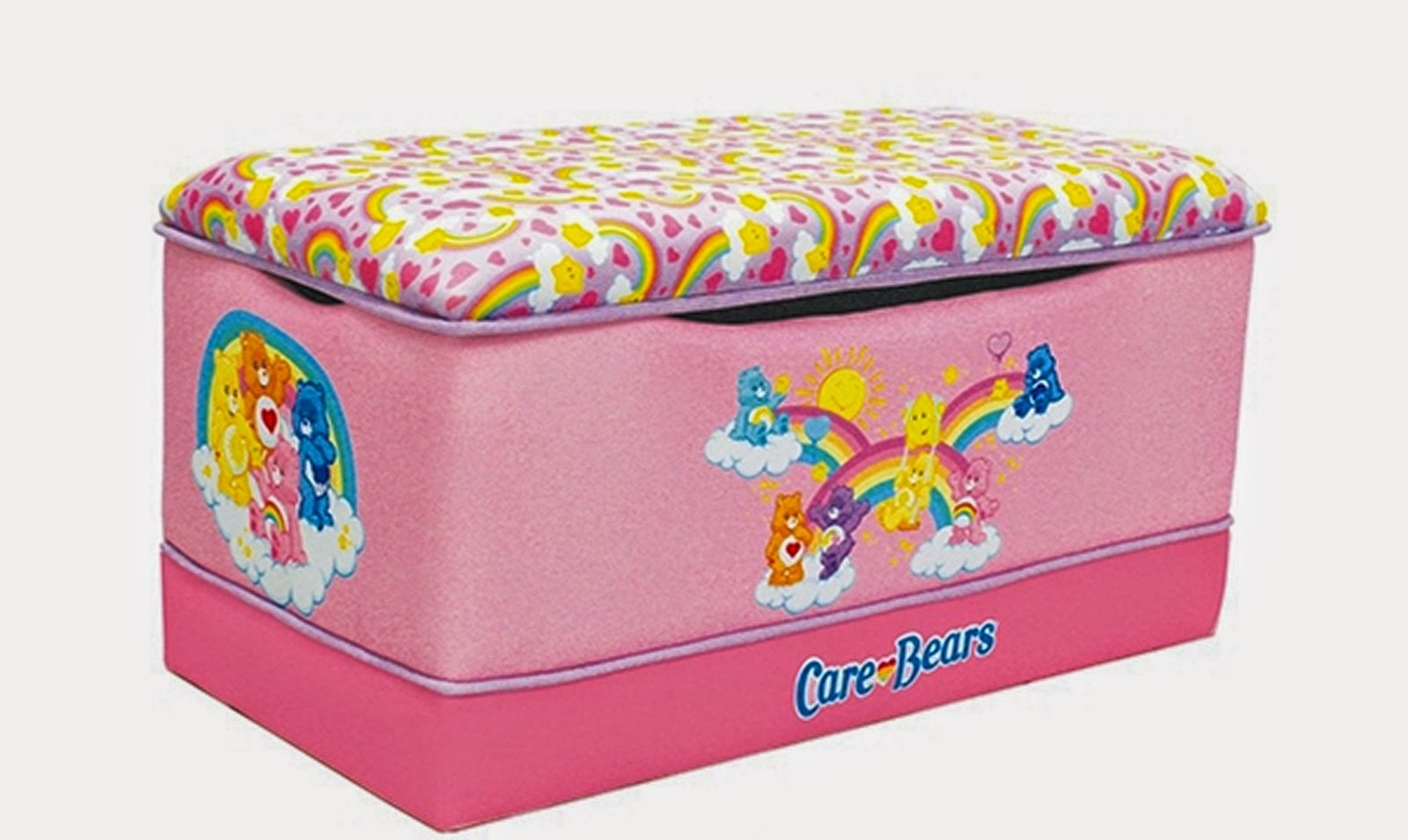 Care Bears Are One Of The Most Adorable Creatures That We Have Met And All Love Them So A Carebear Inspired Toy Storage Box Will Fit Perfect In Your