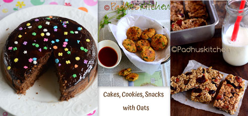 healthy snacks with oats-Oats snacks