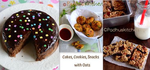 healthy snacks with oats-Oats snacks