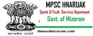 Sports & Youth Services Department Govt of Mizoram Hnaruak