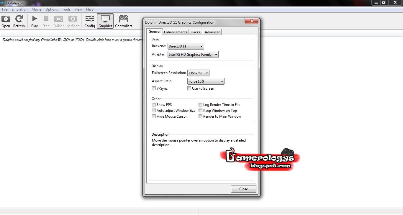 Cara Setting Dolphin Emulator PC Agar Tidak Nge-Lag
