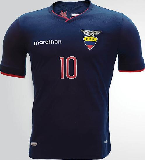d0ce548e9 Ecuador 2015 Copa America Kits Released - Footy Headlines