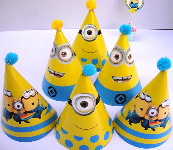 mua mũ giấy minion sinh nhật