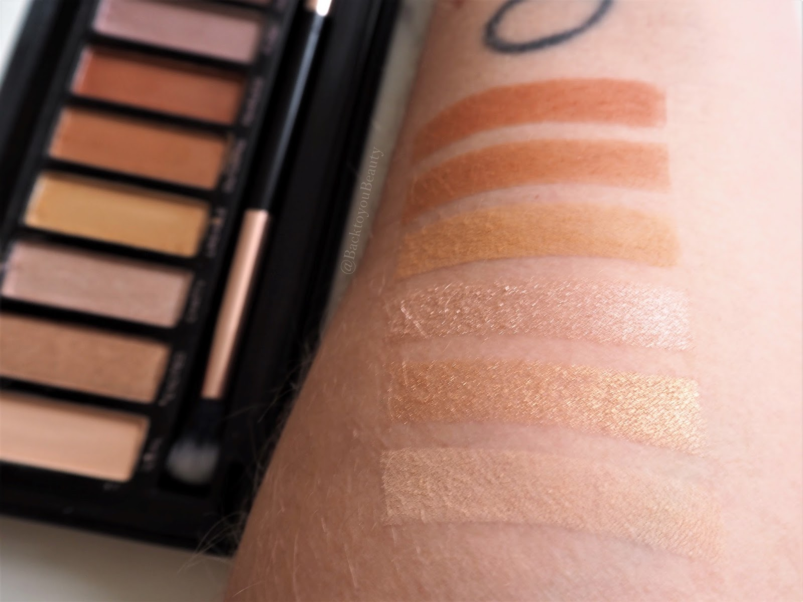 Profusion amber eyes golden swatches