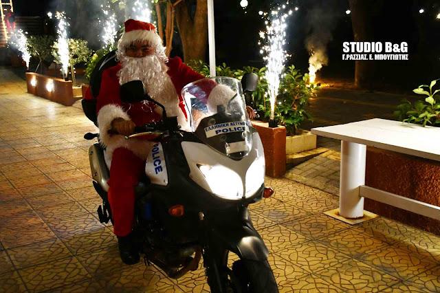 Με εκπλήξεις η Χριστουγεννιάτικη γιορτή των Αστυνομικών της Αργολίδας