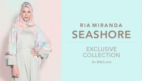 Koleksi baju muslim terlengkap dari desainer Ria Miranda