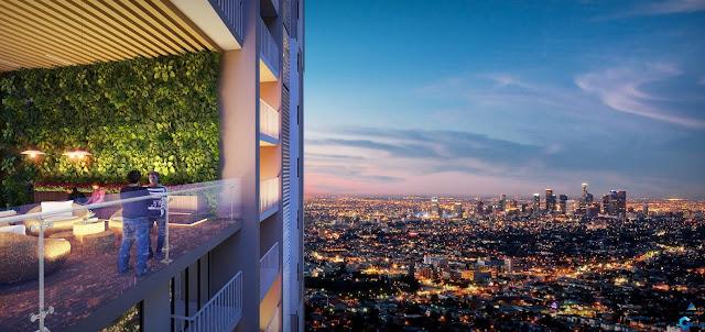 Tầng 25 và Tầng 26 sẽ có 1 khu liên thông gọi là Sky Garden hướng ra Q1