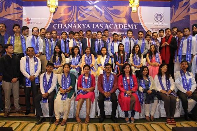 Noida Diary: Chanakya IAS Academy Felicitated Successful Candidates of their CSE 2015 Batch