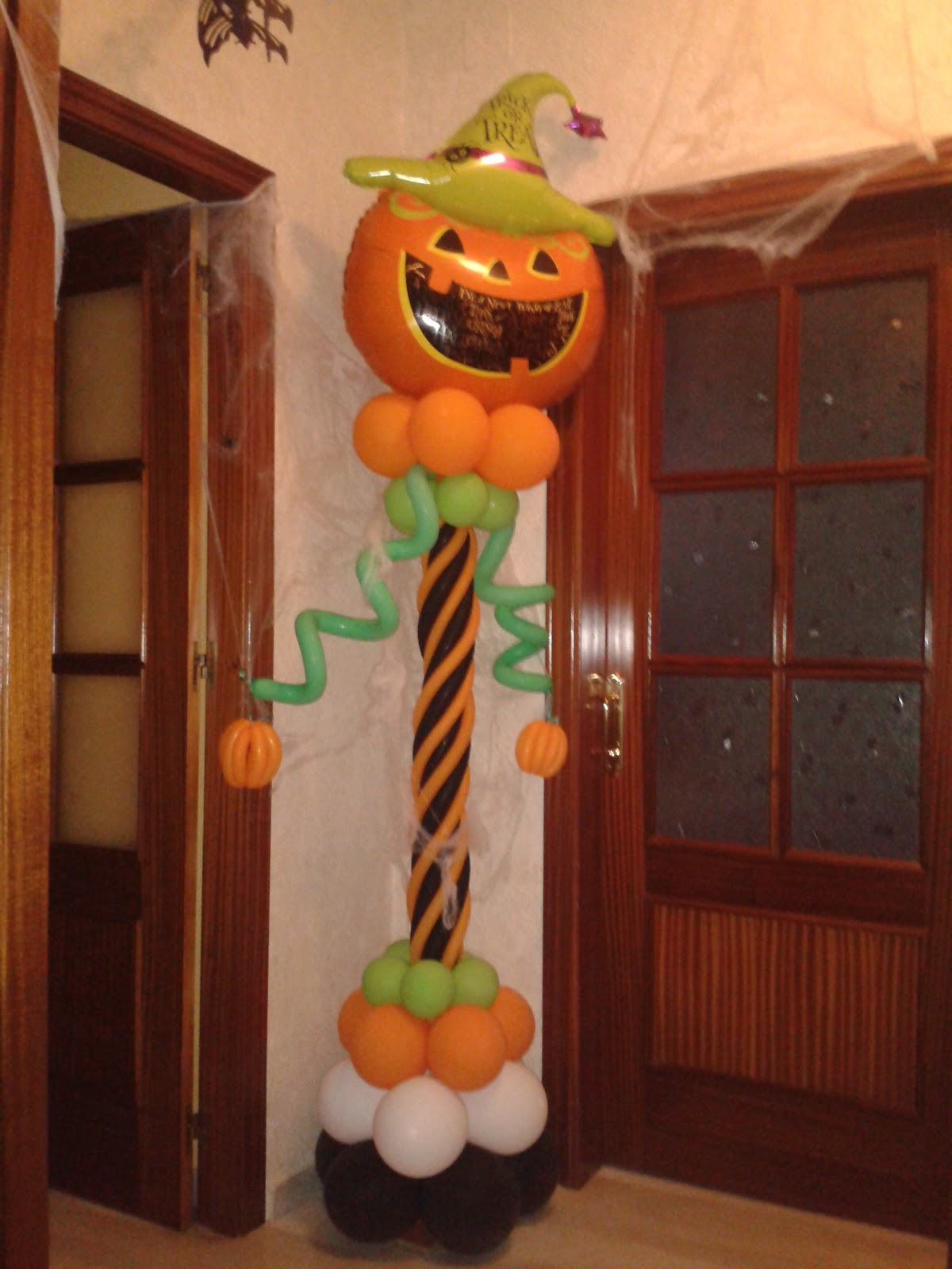 Decorado De Halloween Decoraciones D 39globos Halloween D 39globos