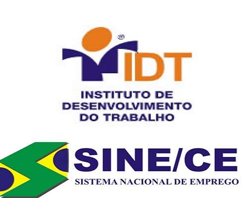 Endereços do Sine/IDT em todo o Estado do Ceará