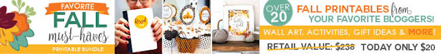 Fall Favorites Printables Bundle