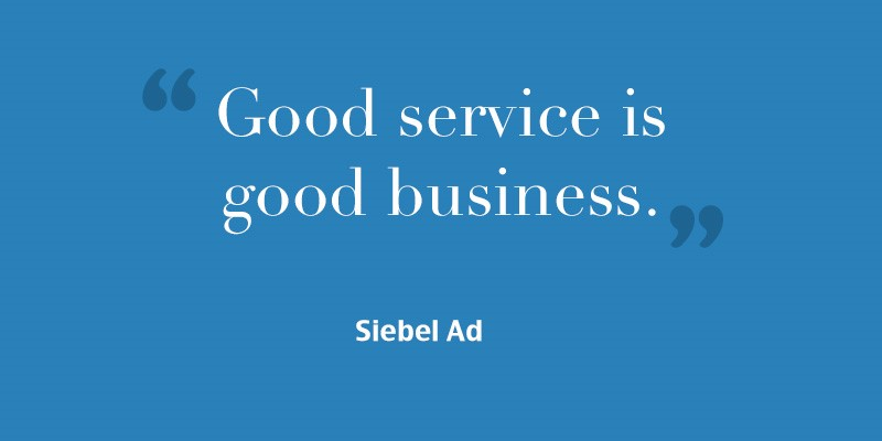 Great Customer Service Quotes Classy 20 Inspiring Customer Service Quotes  Aequor Group