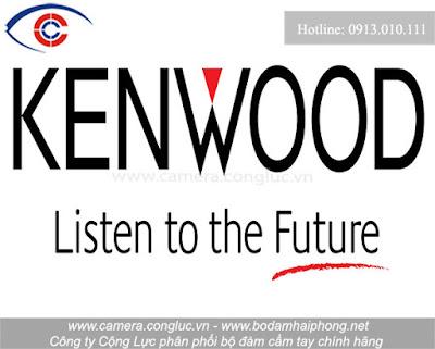 Bộ đàm Kenwood chiếm lĩnh niềm tin.