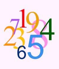 Numerología del 1 al 9