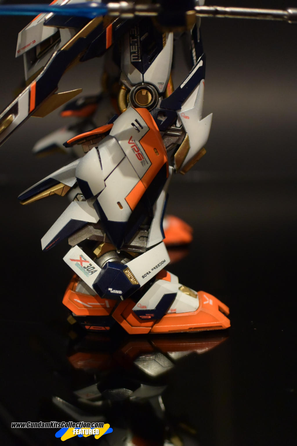 Custom Build: MG 1/100 Sora Freedom X30a