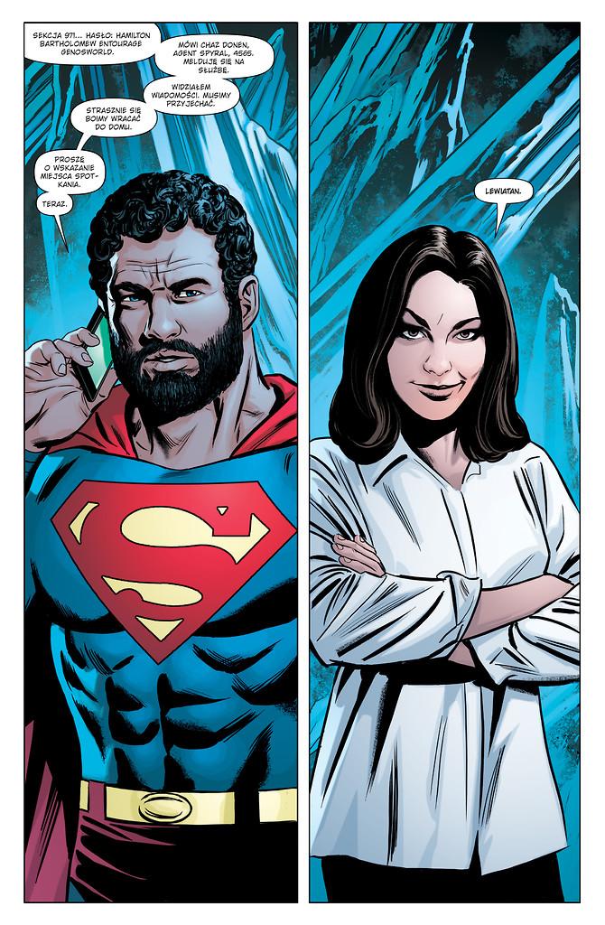 Action Comics tom 2 przykładowa strona