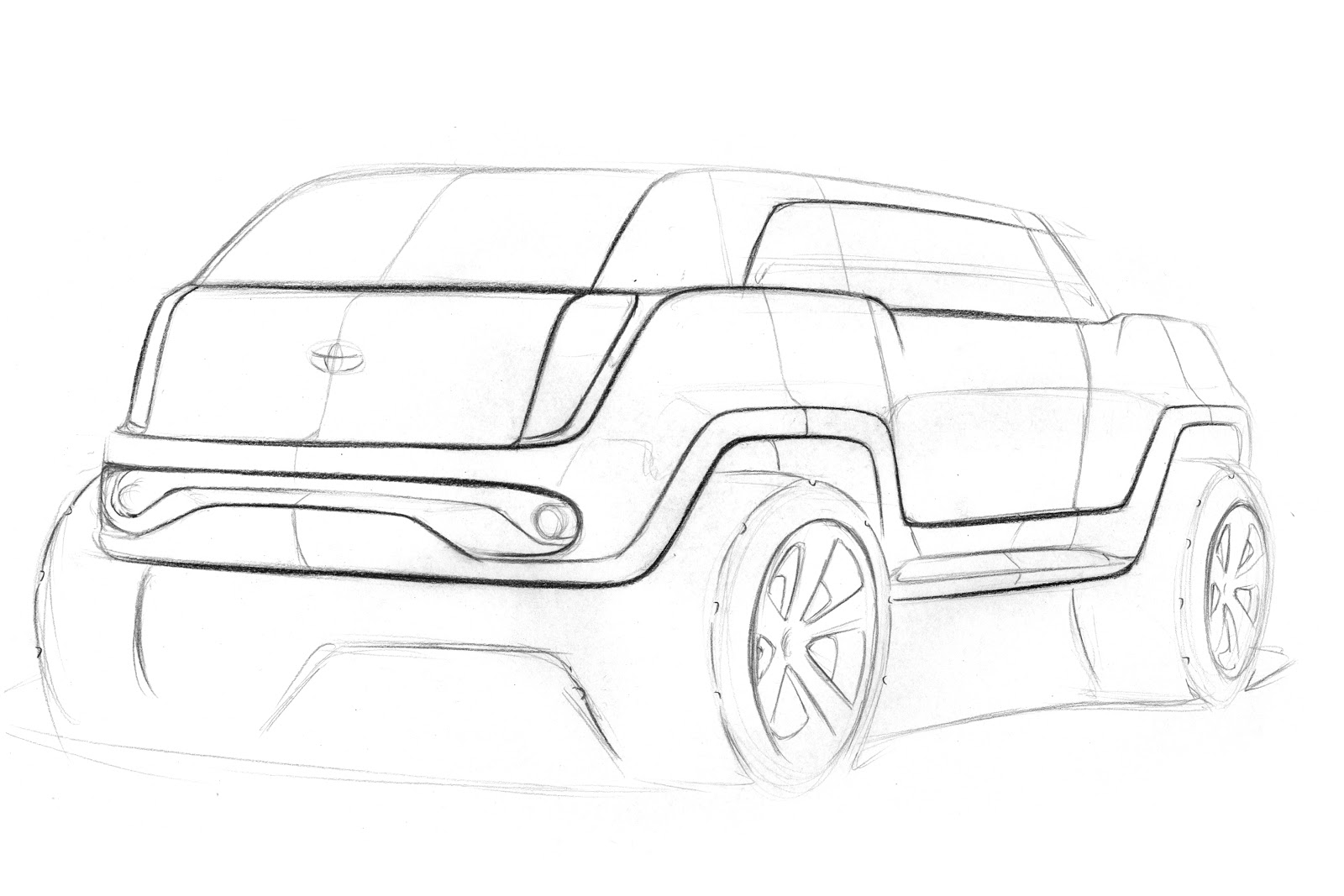 Paul Mutter Design Toyota Suv Crossover Things