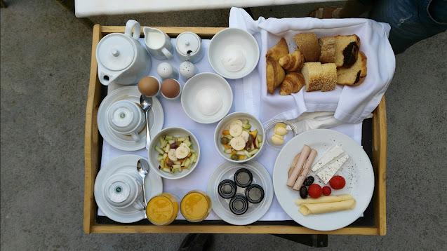 Colazione-Hotel Aria Lito-Santorini