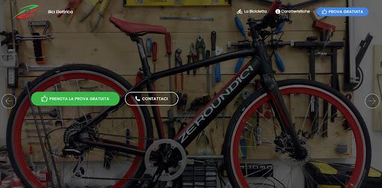 Abbiamo Realizzato La Landing Page Di Zeroundici La Bicicletta