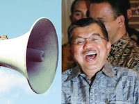 Lagi-lagi Wapres Jusuf Kalla Persoalkan Speaker Masjid