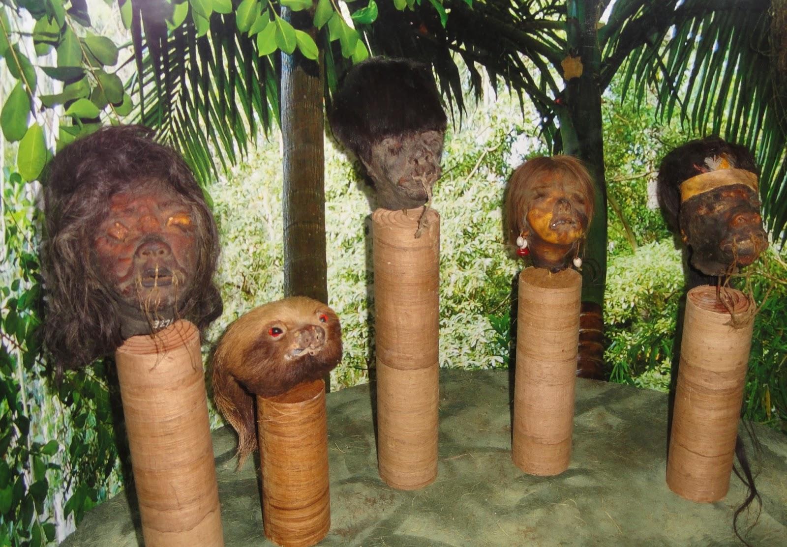 روائع ثقافية: قبائل وحشية مارست قطع رؤوس البشر
