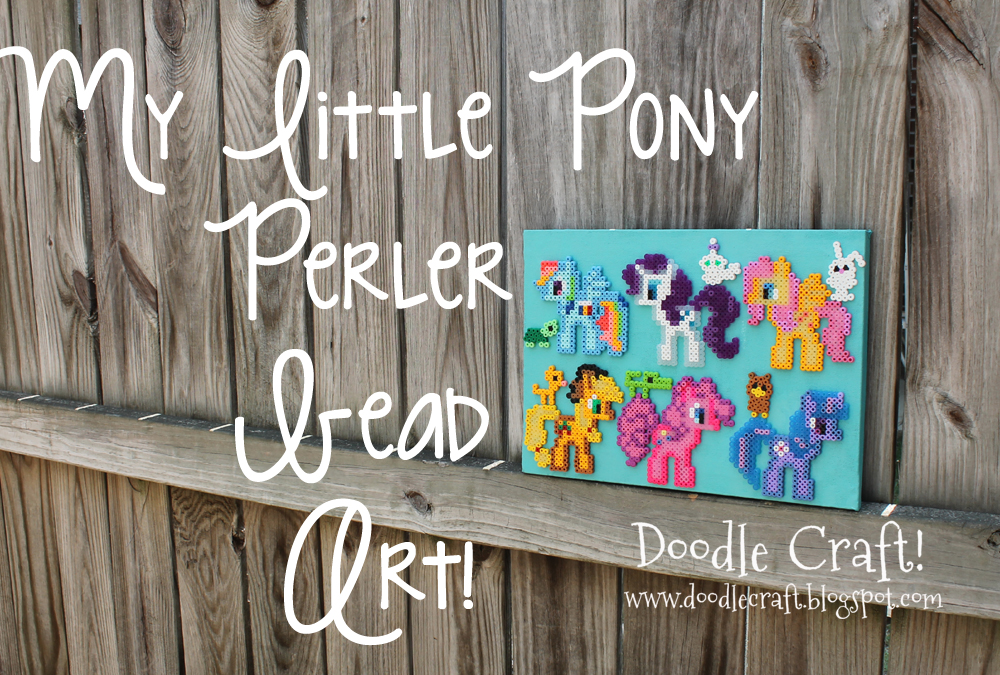 My Little Pony Perler Bead Art