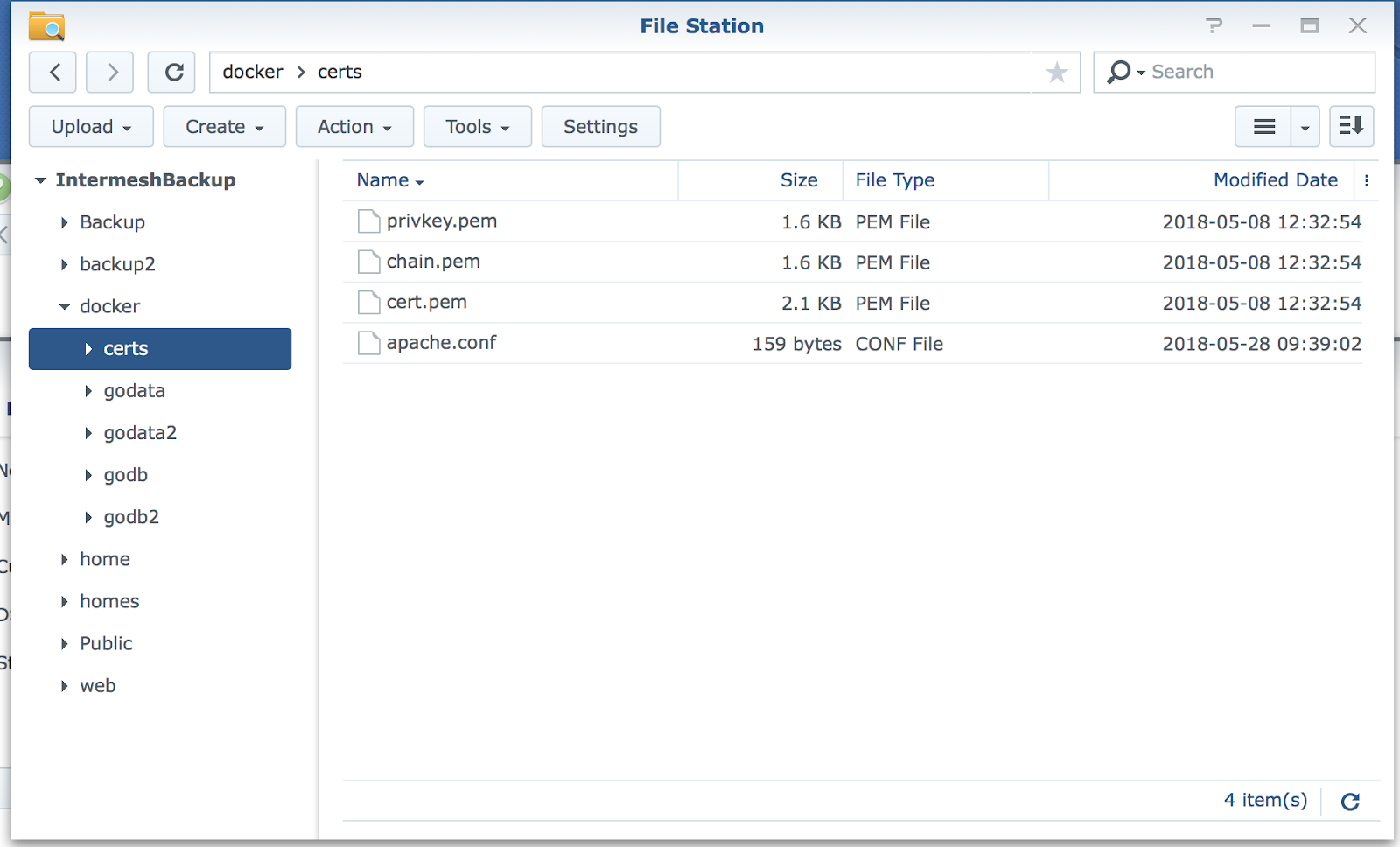 Group Office - Install Group-Office on a Synology NAS with